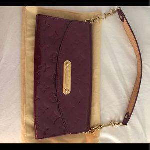 Louis Vuitton vernis purple bag